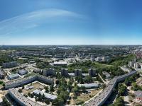 Сферическая панорама: Над самым длинным домом в Новочебоксарске