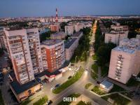 Вечерний вид на улицу Тимофея Кривова