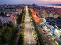 Огни проспекта Максима Горького