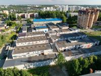 """Вид на гаражный кооператив """"Университетский"""""""