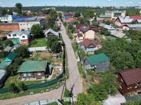 Вид сверху на улицу Ломоносова