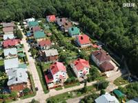 Вид на дома между улицами Тимки и Хведи
