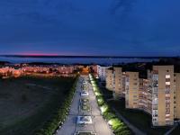 Сферическая панорама: Бульвар Мефодия Денисова вечером