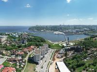 Сферическая панорама: Замамье, ЖК Премьер, ликеро-водочный завод