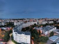 Сферическая панорама: Дома по улице Лебедева, школа №59