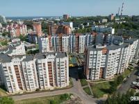 Вид на ул. Ярмарочная 3 и ул. Гагарина 27