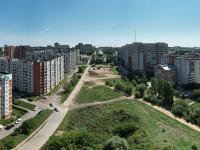 Сферическая панорама: Улица Ярмарочная, место будущей автодороги