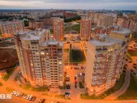 Вид на ул. Миначева 17 и 19