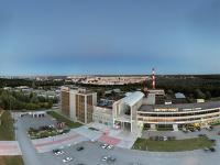 Сферическая панорама: Завод Контур, Ядринское шоссе