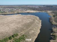 Вид сверху на Новый Чандровский пруд