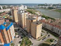 Вид сверху на дома по ул. Академика Крылова
