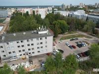 Вид на здание МТС - ул. Карла Маркса 52А