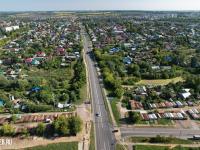 Вид сверху на улицу Орлова