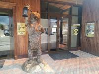 Медведь на входе