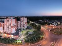 Сферическая панорама: Проспекты 9-й Пятилетки и Ивана Яковлева, Дорисс-парк