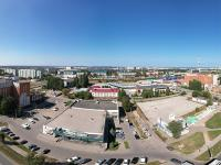 Сферическая панорама: Проспект Мира, Перекресток, Новый автовокзал