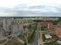 Сферическая панорама: Перекресток улиц Университетская и Мичмана Павлова, ТЦ Питер