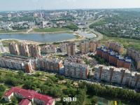 Вид на район улицы Академика Крылова и залив