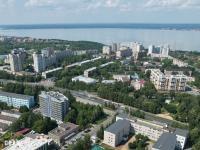 Вид сверху на район улицы Афанасьева