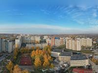 Сферическая панорама: Альгешево, рядом со школой