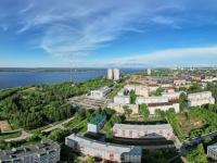 Сферическая панорама: Вид с крыши Дома-Бастилии, микрорайон ХБК