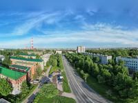 Сферическая панорама: Перекресток улиц 50 лет Октября и Николаева