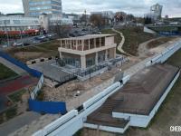 Строительство кафе на заливе
