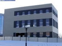 Новое здание на Президентском бульваре