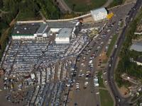 Рынок на Гладкова с высоты птичьего полета