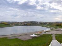 Панорама залива и Певческого поля