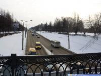 Проспект Ивана Яковлева зимой