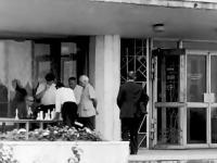 Вход в санаторий Чувашия. 1988 год