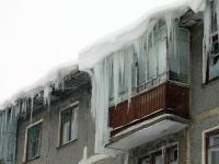 Сосульки на 9 доме по улице Терешковой