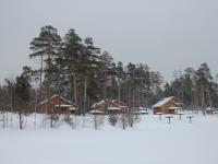 """База отдыха """"Волжская деревня"""" зимой"""