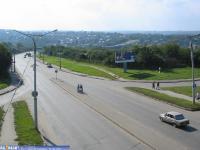 ул. Гагарина, вид на Гагаринский мост