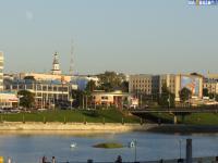 Вид на Президентский бульвар от монумента Матери