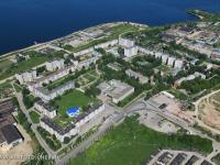 Вид сверху на микрорайон Иваново