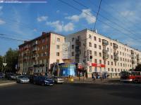 Перекресток проспекта Ленина с улицей Николаева