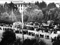 Эстафета газеты «Советская Чувашия» на пл. Ленина