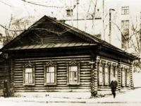 Здание бывшей церковно-приходской школы, 1976 г.
