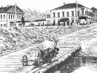 Мост через р. Чебоксарку (1904 год)