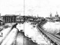Половодье в Чебоксарах в 1926 г.
