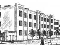 Первое здание кооперативного техникума