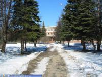 Сквер возле Национальной библиотеки