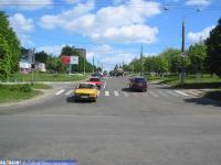 ул. Гагарина на пересечении с ул. 50 летия Октября
