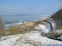Спуск к Волге в районе ул. Сверчкова