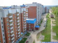 Вид с крыши дома по ул. Пирогова