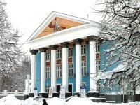 Русский драматический театр зимой
