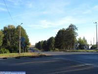 Перекресток трассы с ул. Шоршелской и К.Маркса