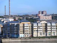 Вид на город с залива